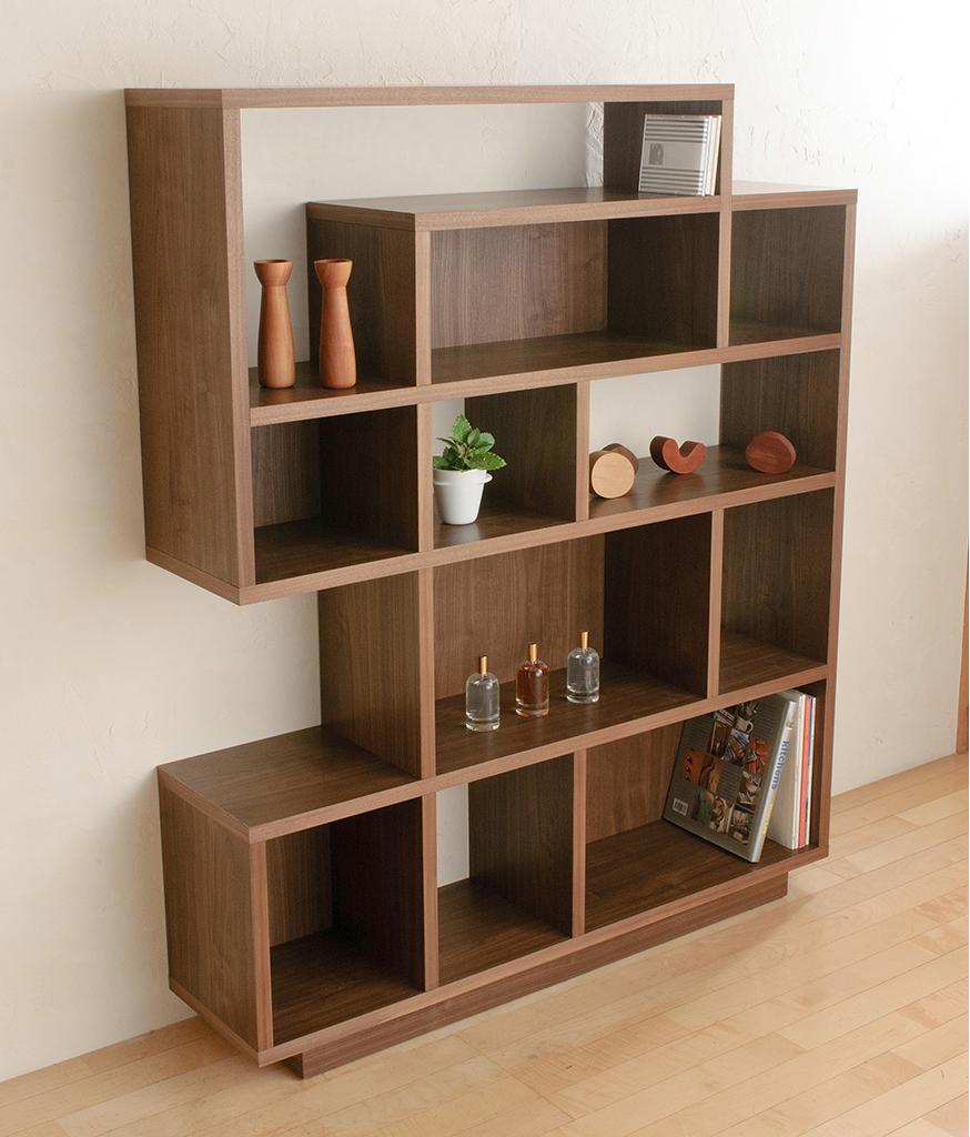 本棚として、飾り棚として。色々使えるフリーシェルフ「Solo(ソーロ)」