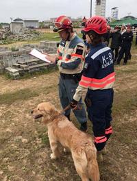 「公的救助機関と災害捜索犬の連携について」