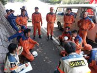 2017年7月13日神戸市防災訓練
