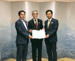 佐賀県知事と協定締結