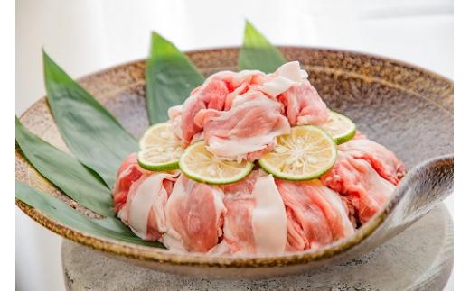 数量限定 佐賀県産豚赤身切り落とし2.4kg